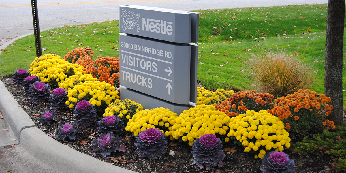 Corporate landscaping